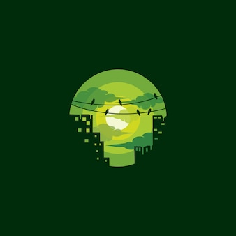 Logo de la ville verte