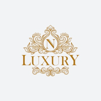 Logo vintage et luxe