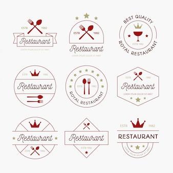 Logo vintage restaurant
