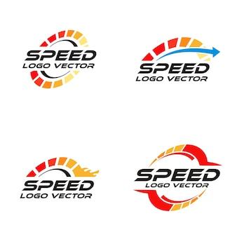 Logo de vitesse de rotation