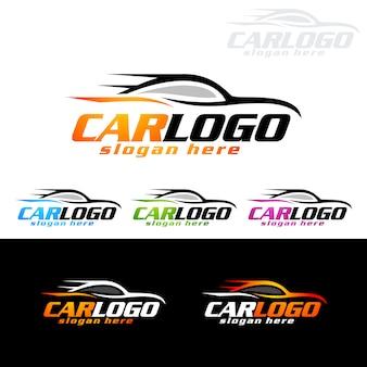 Logo de voiture automatique pour les voitures de sport