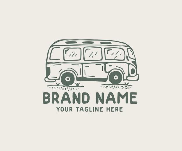 Logo de voiture dessiné à la main