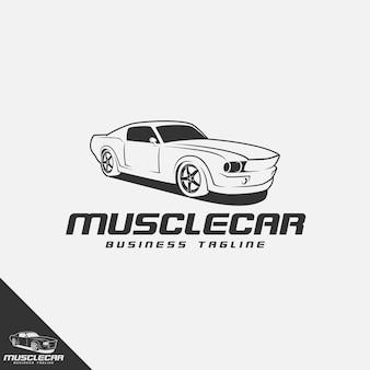 Logo de voiture de muscle