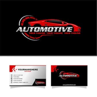Logo de voiture de sport automatique