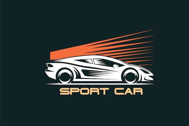 Logo de voiture de sport