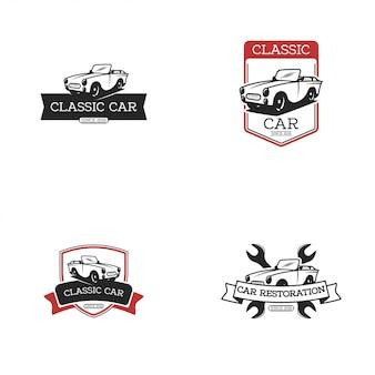 Logo de voiture vintage