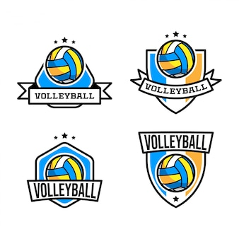 Logo de volley ball
