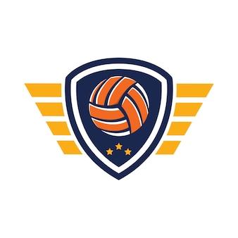 Logo de volleyball, american logo sport