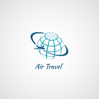 Logo voyage en avion