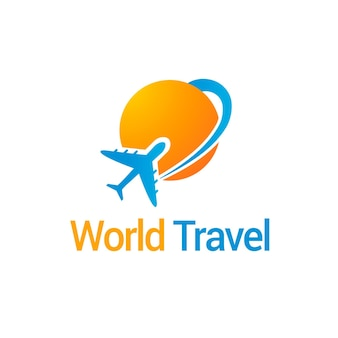 Logo de voyage détaillé