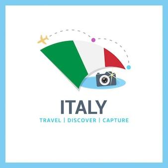 Logo voyage en italie