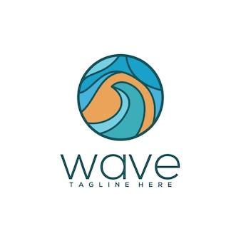 Logo wave