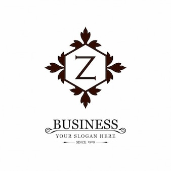 Logo z ornement d'affaires