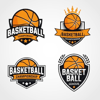 Logos de championnat de basket