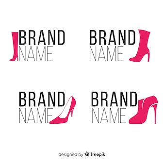Logos de chaussures de mode