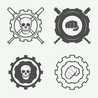 Logos de club de combat