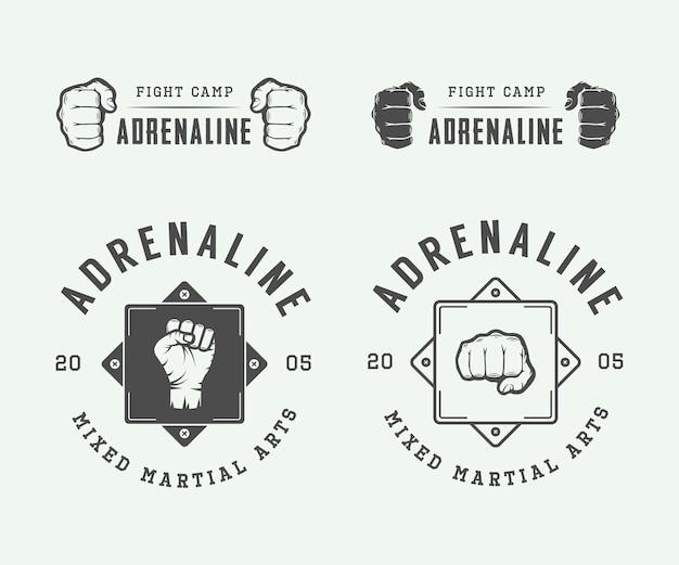 Logos de clubs de combat, emblèmes