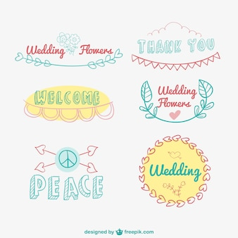 Logos dessinés à la main