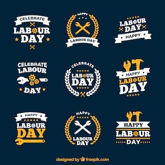Logos du jour du travail