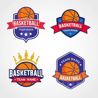 Logos de l'équipe de basket