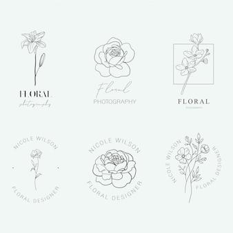 Logos floraux