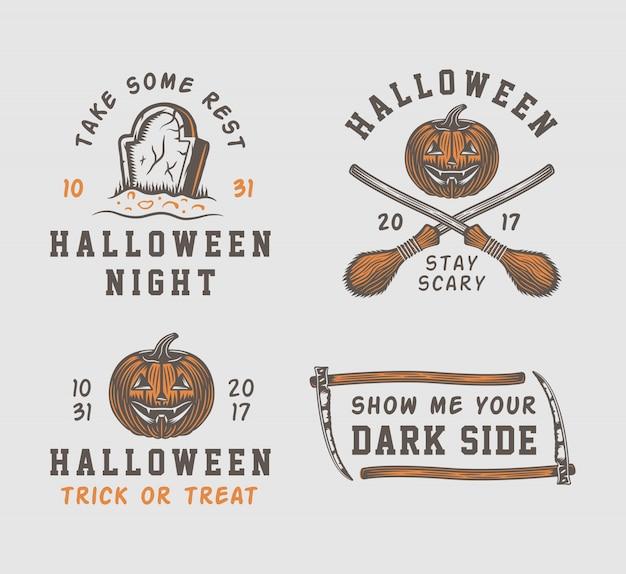 Logos d'halloween