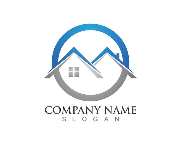 Logos de propriété et de construction