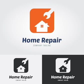 Logos de réparation à domicile
