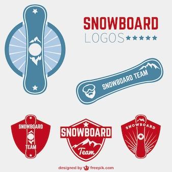 Logos de snowboard