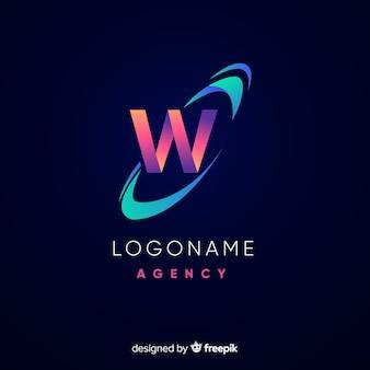 Logotype abstrait