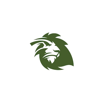 Logotype feuille de lion