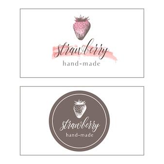 Logotype de fraise