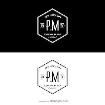 Logotype de style rétro