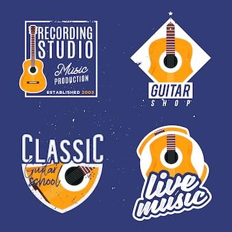 Logotypes sur le thème de la musique