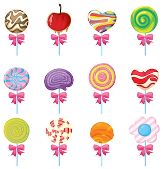 Lollies set
