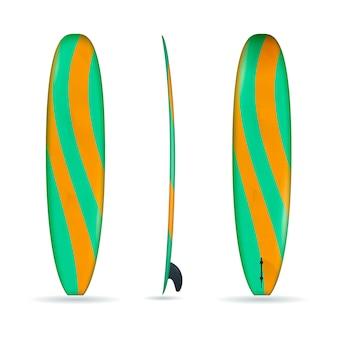Longboard à trois côtés