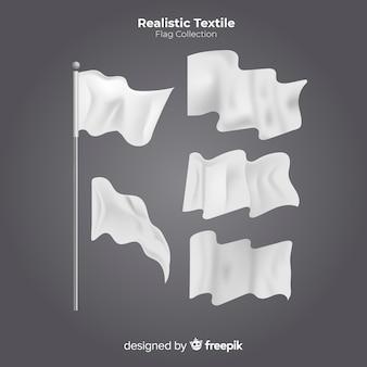 Lot de drapeaux textiles