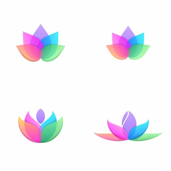Lot de fleurs de lotus
