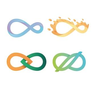 Lot de logos infinity