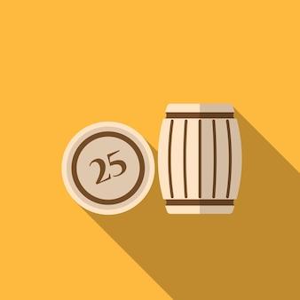 Loto plat icône illustration isolé vecteur signe symbole