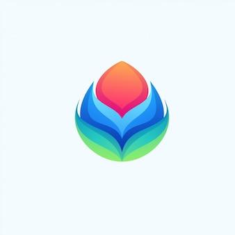 Lotus coloré génial