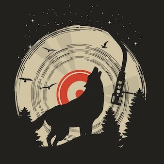 Loup animal