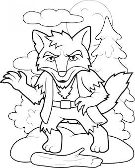 Loup-garou drôle
