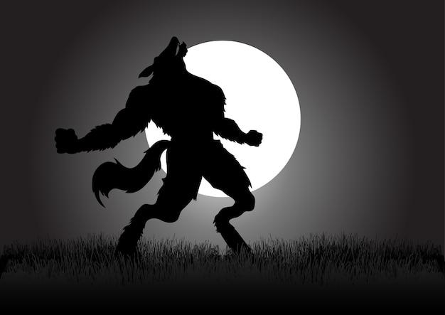 Loup-garou hurlant