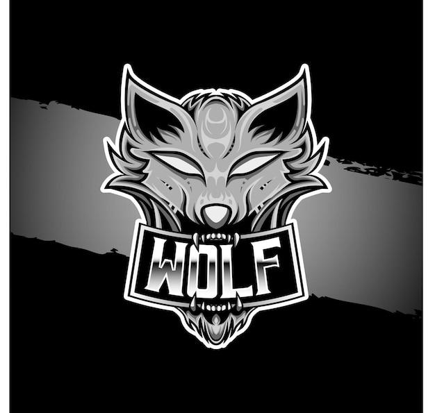 Loup logo esport