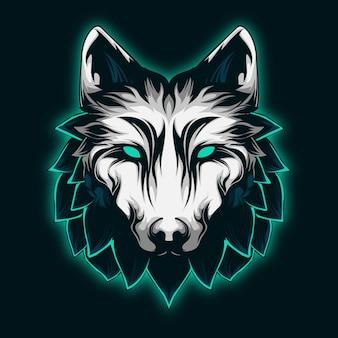 Loup menthe cool et majestic
