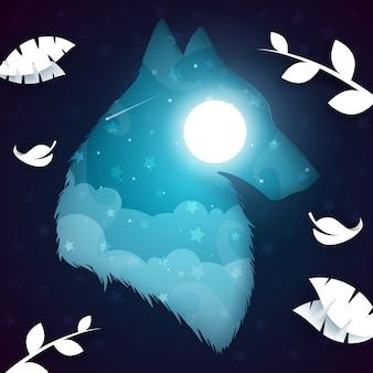 Loup de papier