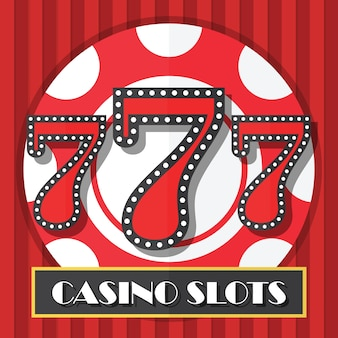 Lucky seven casino machine à sous fond