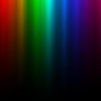 Lumière arc-en-ciel rougeoyante colorée. effet polaire aurore boréale. élément de design graphique transparent pour flyer, affiche, couverture de livre, carte et invitation. abstrait lumineux. illustration vectorielle.