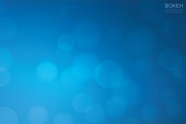 Lumière bleue floue bokeh pour le fond.